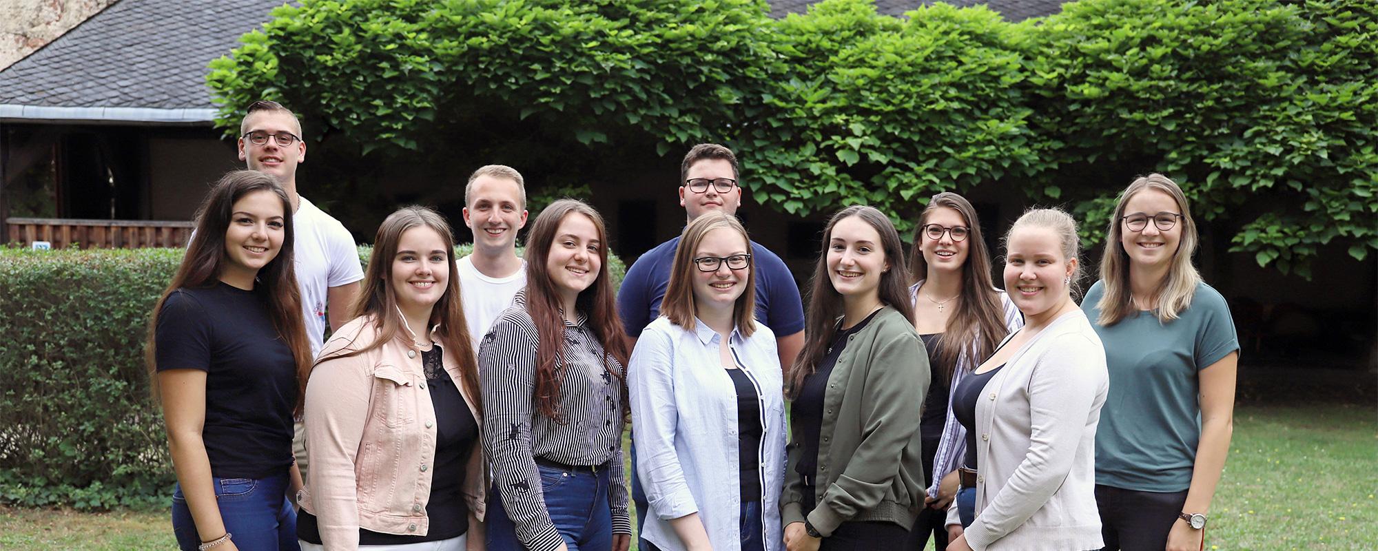 Auszubildende und Dual Studierende im Bistum Trier