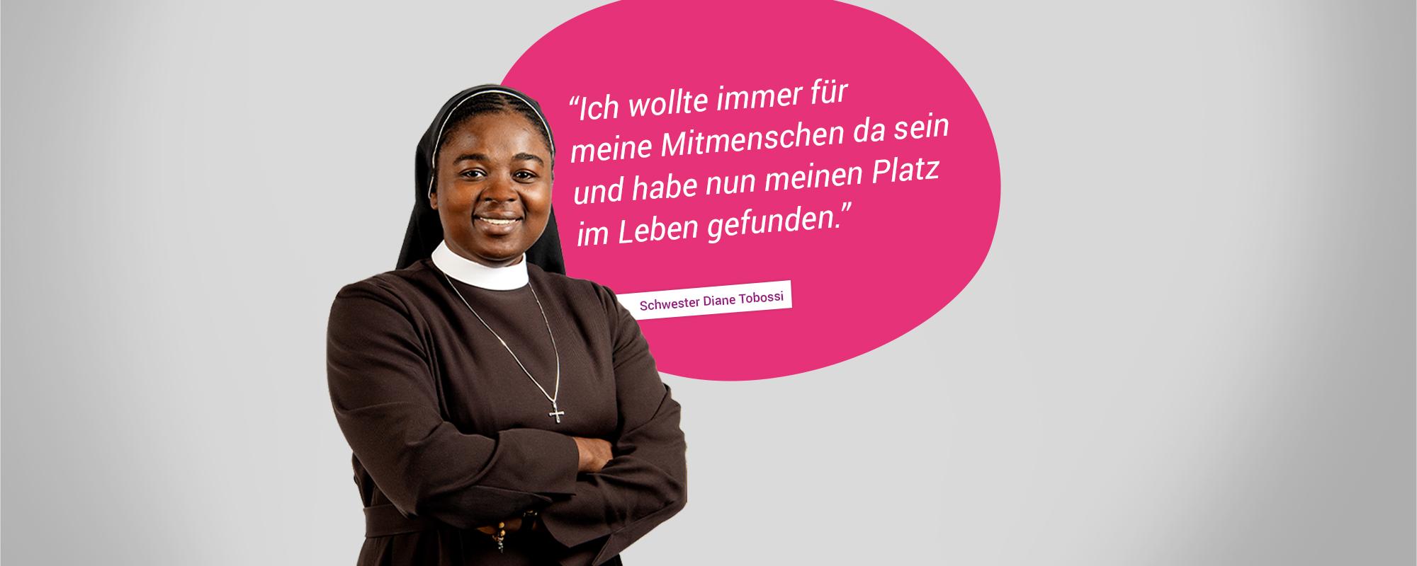 Schwester Diane Tobossi, Ordensfrau im Bistum Trier