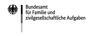 Logo Bundesamt für Familie und zivielgesellschaftliche Aufgaben