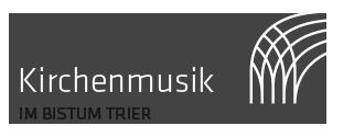 Logo Kirchenmusik im Bistum Trier
