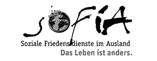 Logo SoFiA – Soziale Friedensdienste im Ausland